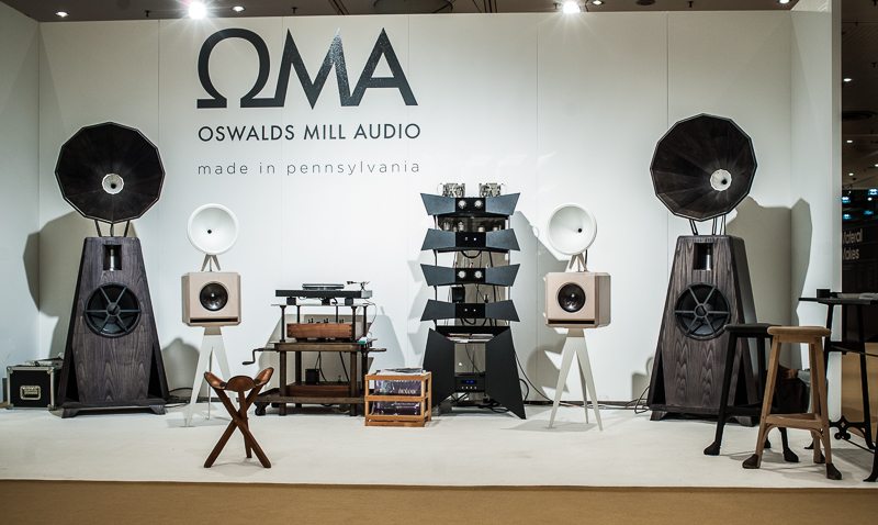 OMA booth at ICFF
