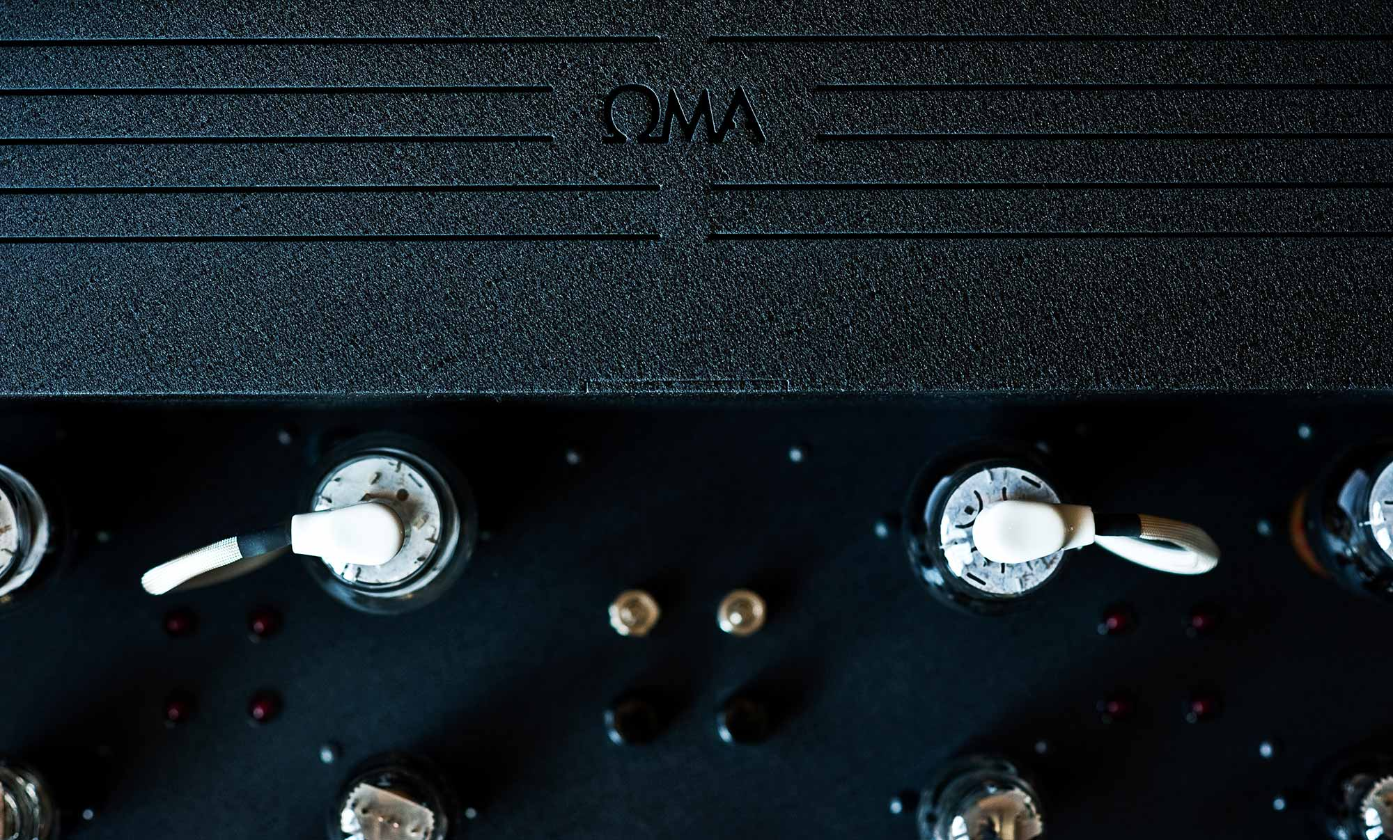 oswalds mill audio black knight oma amplifiers. Black Bedroom Furniture Sets. Home Design Ideas