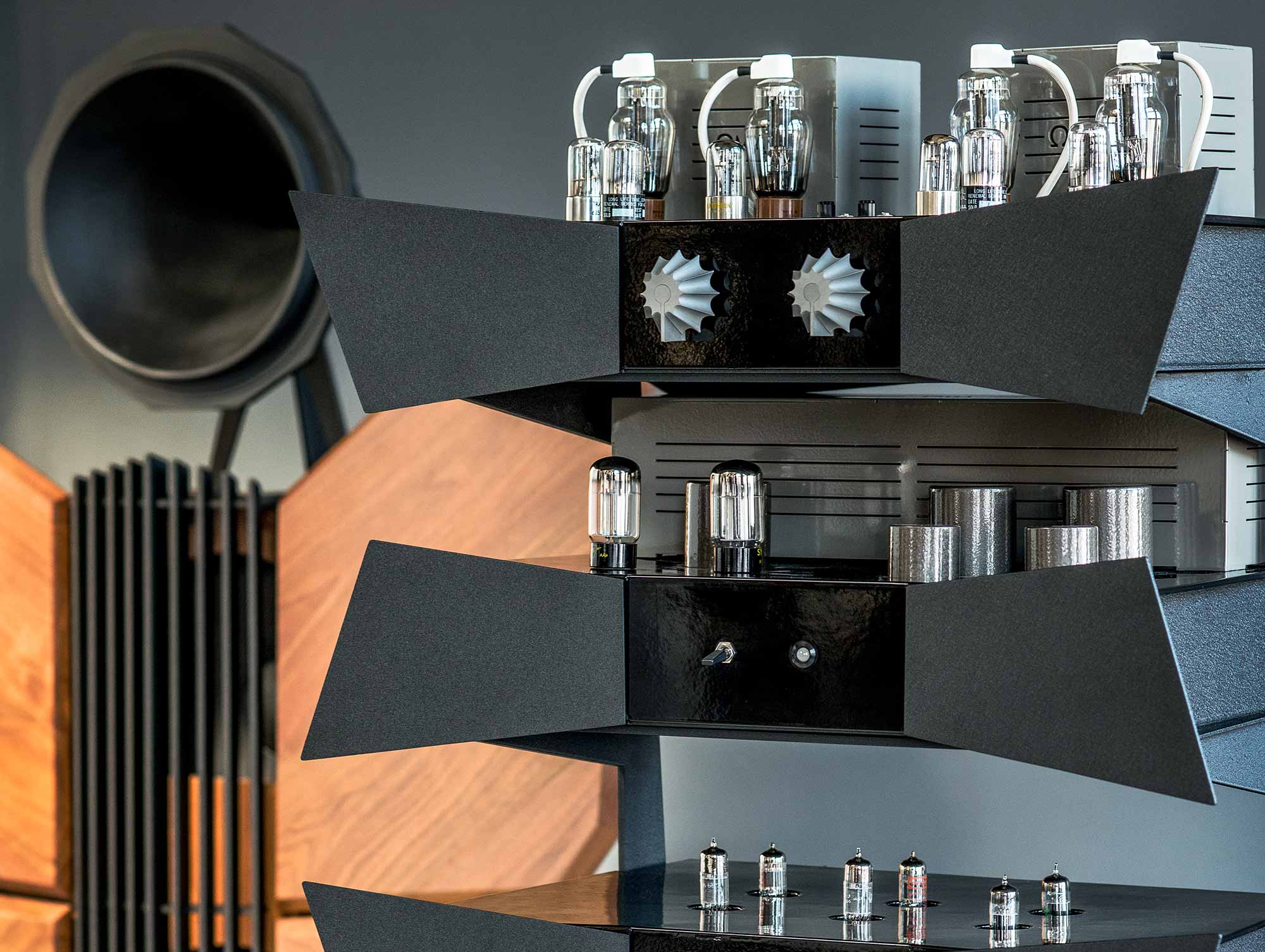 oswalds mill audio metamorphosis rack system oma amplifiers. Black Bedroom Furniture Sets. Home Design Ideas