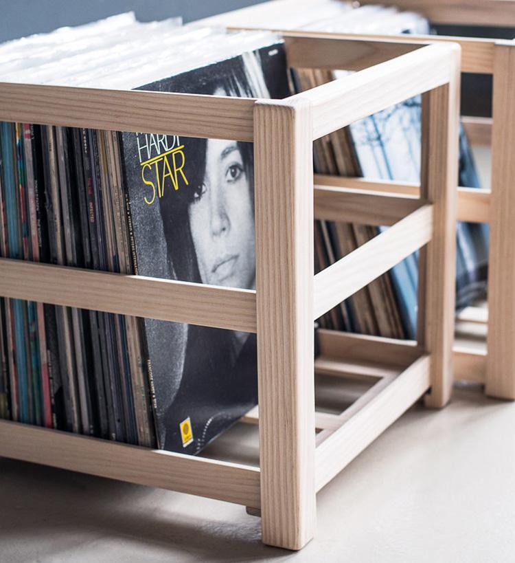 Audio Furniture. Equipment Racks Equipment Racks Record Crate