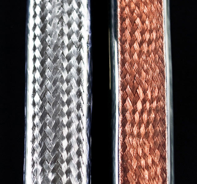Big Silver Oval with Copper Oval 9 (detail)