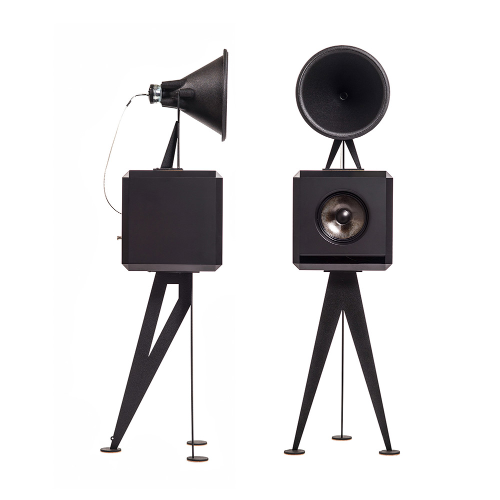 OMA Mini Loudspeaker in black black