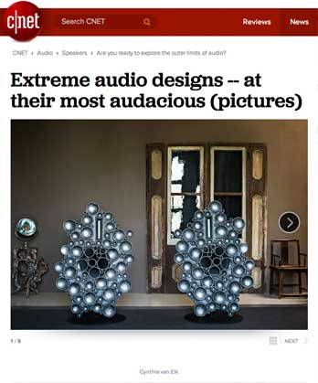 CNET Extreme audio designs -- at their most audacious (pictures)