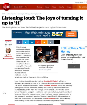 Listening loud: The joys of turning it up to '11'