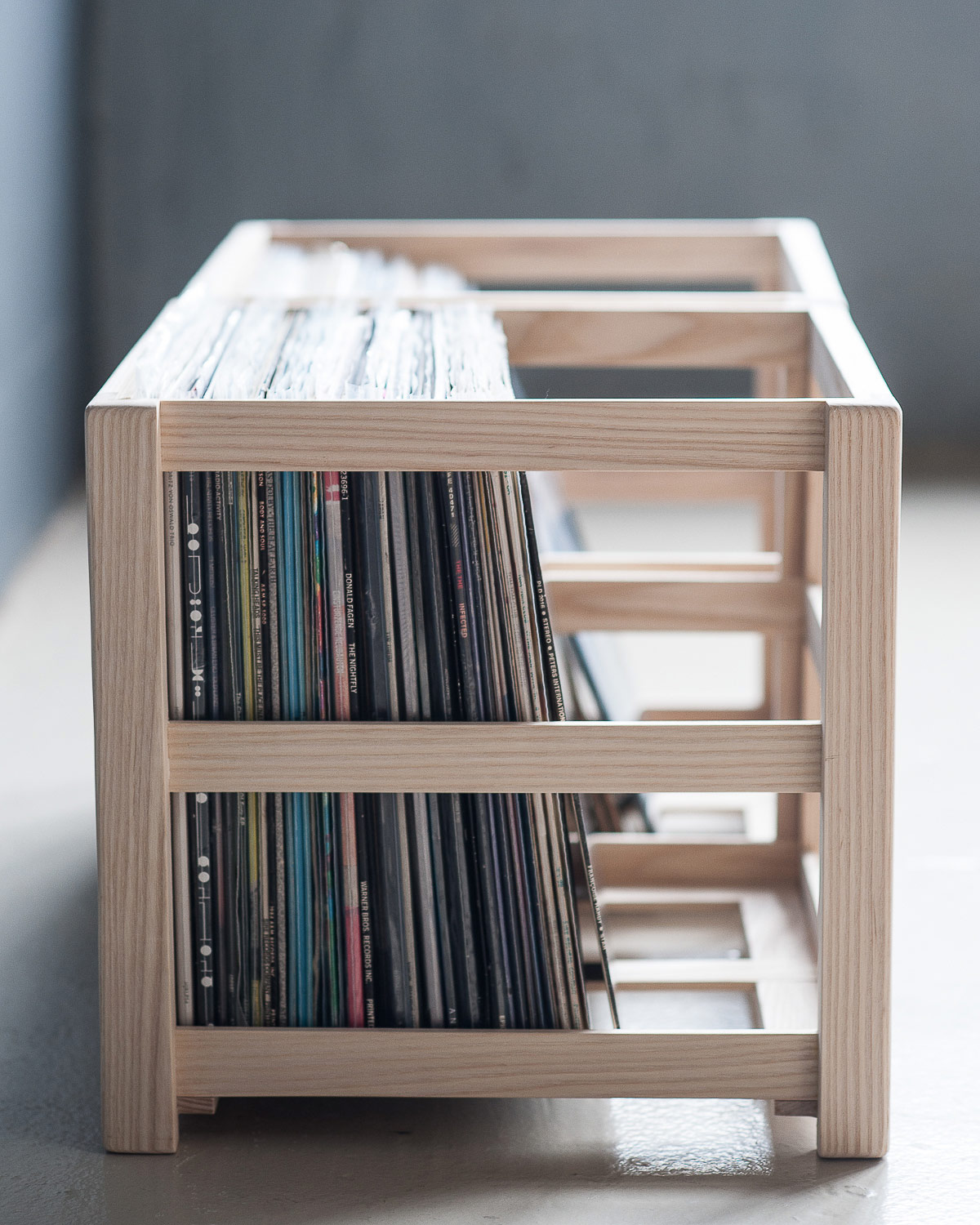 vinyl record furniture. Record Crate Audio-furniture Vinyl Furniture
